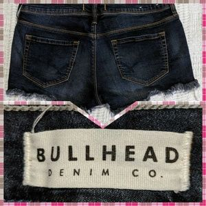Pacsun Bullhead Denim Co 9 Studded Frayed Shorts